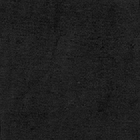 Elgar - Jet - Dark lead grey coloured unpatterned cotton, viscose and polyester blend fabric