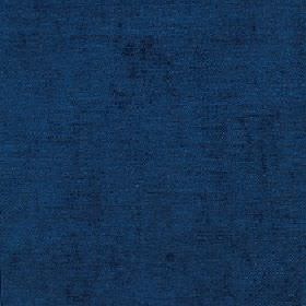 Elgar - Bijou Blue - Elegant navy blue coloured fabric made from an unpatterned blend of cotton, viscose and polyester