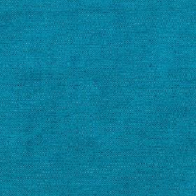 Elgar - Bluejay - Fabric made from bright sky blue coloured cotton, viscose and polyester with no pattern
