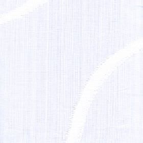 Kava - Bright White - 100% polyester fabric made in a crisp white colour with a very subtle tinge of pale grey