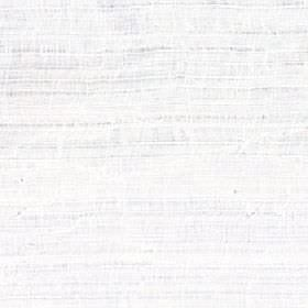 Shika - Snowdrop - 100% polyester fabric in white, behind a patchily printed subtle horizontal line design in a pale shade of grey