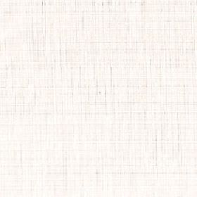 Taiko - Winter White - Slightly streaky 100% polyester fabric featuring a plain white background to a subtle pale grey-beige coloured design