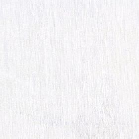 Shiya - Snowdrop - Light grey coloured streaks creating a subtle, slightly patchy design on white fabric made with a 100% polyester content