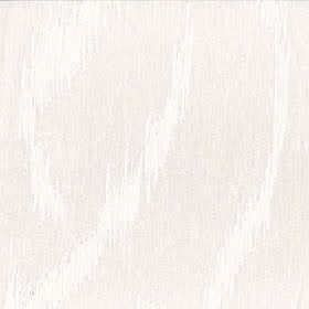 Alaska - Winter White - Rough, random streaks creating a very subtle pattern in white and very pale beige on 100% polyester fabric