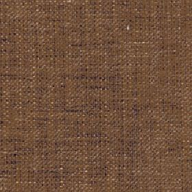 Sintra - Brown Sugar - Chestnut brown coloured 100% polyester fabric featuring a subtle flecked design in wafer and dark purple-grey colours