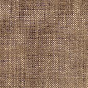 Sintra - Warm Sand - Cream and aubergine coloured interwoven threads creating subtle flecks on nut brown coloured 100% polyester fabric