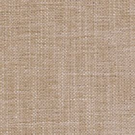 Sintra - Putty - Barley coloured fabric made entirely from polyester with a subtle streaky effect in white