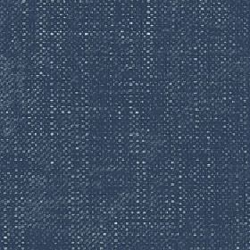 Sintra - Mallard Blue - Fabric woven from 100% polyester with a few pale grey-white flecks scattered over a navy blue coloured background
