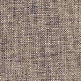Sintra - Gray Green - 100% polyester fabric featuring an uneven design caused by interwoven threads in cream, light brown & dark grey colour