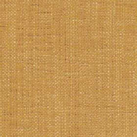 Sintra - Sunset Gold - Fabric made from caramel coloured 100% polyester, featuring a subtle flecked design woven using gold coloured threads
