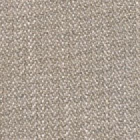 Talia - Oatmeal - Subtle herringbone patterns creating a light grey, beige and white speckled effect on fabric made from four materials