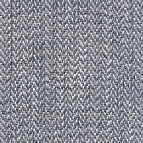 Talia - Silver Sage - Fabric woven with a linen, viscose, polyester and cotton blend and a herringbone pattern in white and two shades of gr