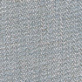 Talia - Surf Spray - Speckled fabric woven from a blend of linen, viscose, polyester and cotton in light shades of blue-grey and white