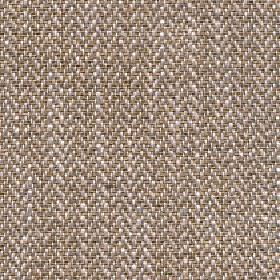 Talia - Brown Sugar - Khaki, coffee and white coloured threads woven into a herringbone patterned fabric blended from four different materia