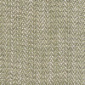 Talia - Lint - Fabric blended from four different materials with a herringbone pattern in light shades of green, grey and white