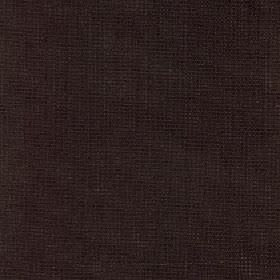 Tundra - Jet - An extremely dark shade of brown-black covering fabric made from 45% cotton, 45% viscose and 10% linen