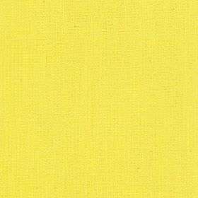 Tundra - Lemon - Vivid yellow coloured fabric made from a very bright mix of cotton, viscose and linen