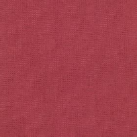 Tundra - Rosewood - Strawberry and raspberry colours combined to create a plain pink-red fabric made from cotton, viscose and linen