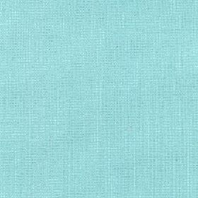 Tundra - Blue Topaz - Aqua blue coloured cotton, viscose and linen blend fabric made with a very bright, slightly speckled finish