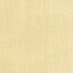 Tundra - Sandshell - Cotton, viscose and linen blend fabric made in a flat shade of light creamy yellow