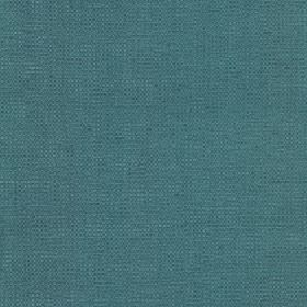 Tundra - Teal - Plain teal coloured cotton, viscose and linen blend fabric