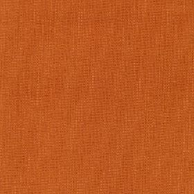 Tundra - Tigerlilly - Unpatterned cotton, viscose and linen blended together into a fabric made in a dark shade of orange