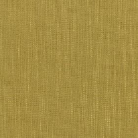 Tundra - Willow - Fabric made from an unpatterned blend of kiwi green coloured cotton, viscose and linen, with a few lighter streaks