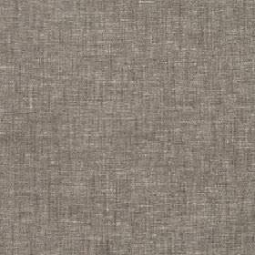 Marala - Echo - A few light streaks running through polyester, cotton and linen blend fabric in mid-grey with a subtle brown tinge