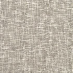 Secret - Silver Birch - Fabric woven from polyester, cotton and linen blend threads in cream and grey, with a streaky, patchy finish