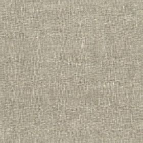 Samar - Silver Birch - Fabric woven with a slightly patchy finish from grey and cream coloured polyester, cotton and linen blend threads