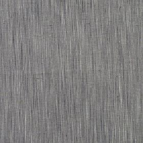 Natita - Koala - Vertical streaks patterning polyester, cotton and linen blend fabric in three different shades of grey
