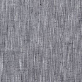 Natita - Mist - Fabric made from light and dark shades of blue-grey with a vertical streaky finish and a polyester, cotton & linen blend