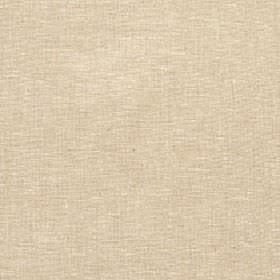Athos - Hemp - Plain fabric blended from polyester, cotton and linen in a light shade of biscuit