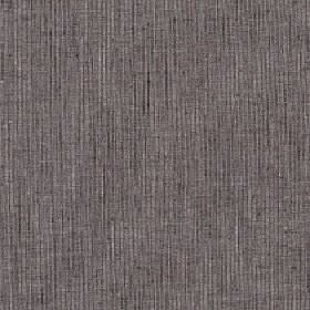 Sarissa - Rock Ridge - Very thin, subtle, patchy black lines running at even intervals down dark grey coloured polyester, cotton & linen fab