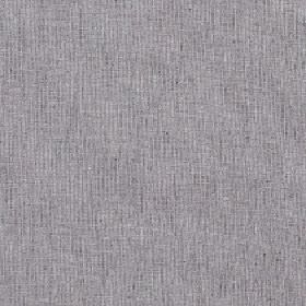 Sarissa - Dapple - Fabric made from polyester, cotton and linen with thin, patchy, even vertical lines in grey with a light purple tinge