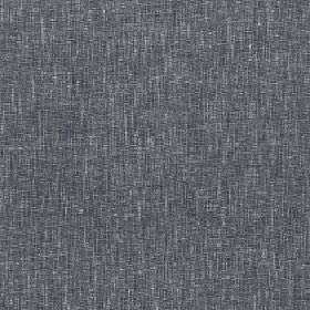 Samar - Gargoyle - Polyester, cotton and linen blend fabric made with a patchy, streaky finish in dark shades of grey