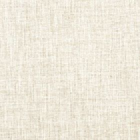 Pheonix - Linen - Parchment coloured streaks creating a subtle uneven finish on polyester, cotton and linen blend fabric in chalk white