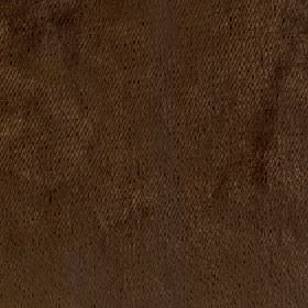 Volante - Teak - Plain fabric made from 100% polyester in a very dark shade of chocolate brown