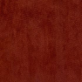 Volante - Garnet - Warm reddish brown coloured fabric made entirely from unpatterned polyester
