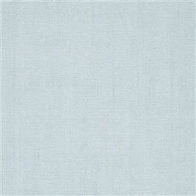 Alaro - Cloud - Baby blue coloured 100% linen fabric made with no pattern