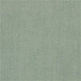 Alaro - Aqua - 100% linen fabric made in a plain colour that's a blend of jade and grey shades