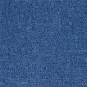 Anafi - Indigo - Bright Royal blue coloured viscose and linen blended together into an unpatterned fabric