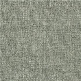 Anafi - Slate - Slightly patchy fabric made from light and mid-grey coloured viscose and linen