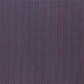 Lulgrove - Midnight - Fabric made from very subtly striped 100% cotton with a thin, almost imperceptible vertical dark blue and purple desig