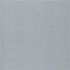 Tussock - Fjord - Blue-grey and pale grey making up a very tiny grid pattern on fabric made entirely from coton