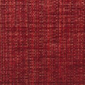 Saskia - Cranberry - Dark ruby and burgundy coloured threads made from polyester, acrylic and viscose woven together into a striking fabric