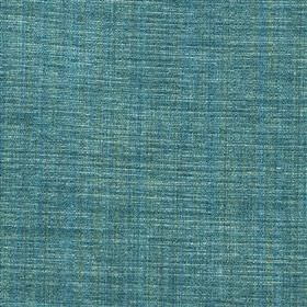 Saskia - Jade - Bright aqua blue coloured fabric woven from a blend of polyester, acrylic and viscose