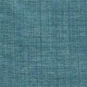Saskia - Ocean - Fabric blended from a combination of polyester, acrylic and viscose, woven using two very similar shades of marine blue