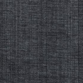 Saskia - Charcoal - Polyester, acrylic and viscose woven together into a semi-plain deep midnight blue coloured fabric