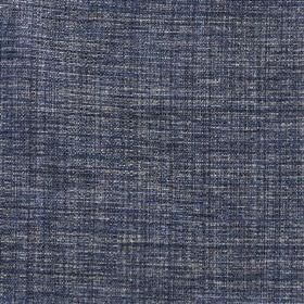 Saskia - Ammonite - Navy blue and white coloured threads woven together into a polyester, acrylic and viscose fabric